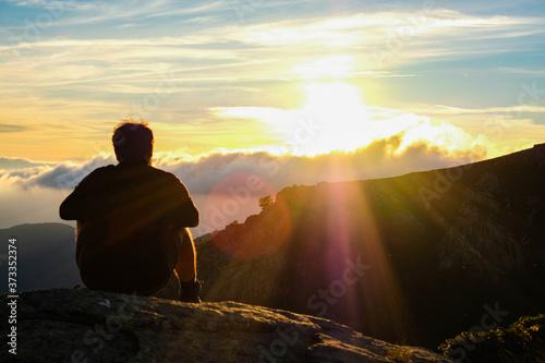 Fotografie, Obraz Randonnée en montagne