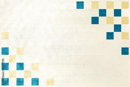 Tela 年賀状 和柄 水彩 背景