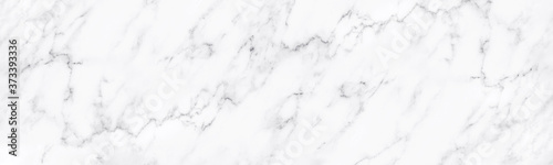 Leinwand Poster White marble texture for background or tiles floor decorative design