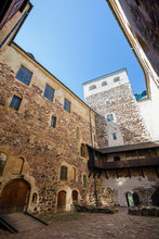Inner Courtyard Of The Medieva...