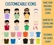 Customizable Icons Change-able...