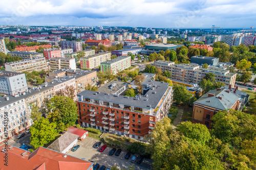 Fototapeta Szczecin centrum Aleja Papieża Jana Pawła/Niedziałkowskiego/Wielkopolska