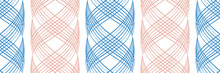 Vector Inky Blue And Pink Abst...