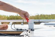 RV Caravan Roof Repair
