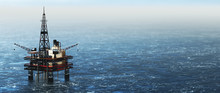 Offshore Drilling Rig On The S...