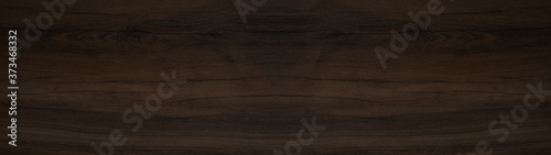 old brown rustic dark wooden texture - wood background panorama long banner Fototapet