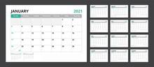 2021 Calendar Planner Set For ...