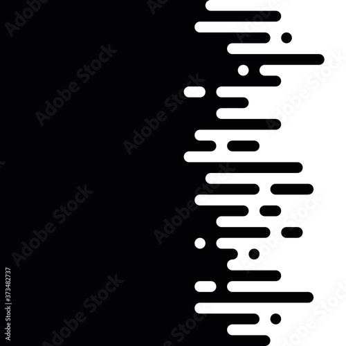 Photo Seamless vector abstract horizontal transition of two colors