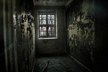 A Cell In An Abandoned Asylum