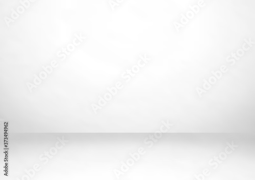 Fotografiet Empty gray color studio room background, can use for background and product display