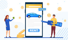 Mobile App For Renting A Car O...