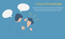 Curse Of Knowledge Concept,Whe...