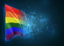 Rainbow,  Vector Flag, Virtual...