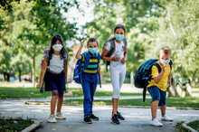 Children Going Back To School ...