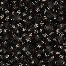 Seamless Floral Sepia Grunge P...
