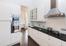 Modern Kitchen At Holiday Vill...