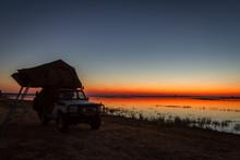 Sunset Namibia