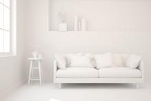 Stylish Minimalist Room With S...