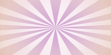 Centered, Gradient Rays In Pur...
