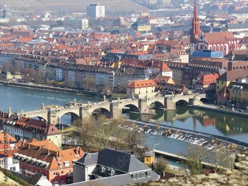 Obraz na plátně Würzburg