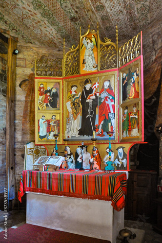 Photo Ołtarz w kościele św. Leonarda w Lipnicy Murowanej