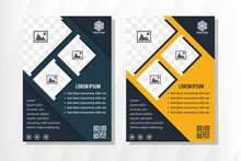 Vertical Flyer Design Template...