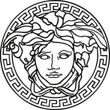 Vector Illustration Of Medusa Mask