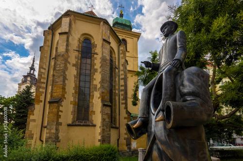 Fotografija Pomnik Franza Kafki w Pradze.