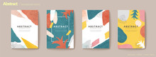 Abstract Colorful Flyer Set