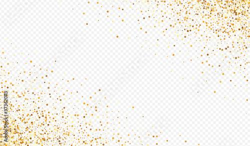 Foto Gold Dot Modern Transparent Background. Rich