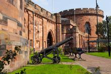 Old Canon At Carlisle Citadel 25 08 2020 In Carlisle, UK