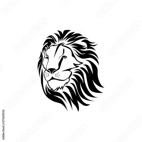 Fototapety, obrazy: Lion Logo Template Design Vector