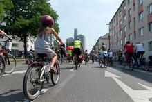 Fahrrad Demo In Köln