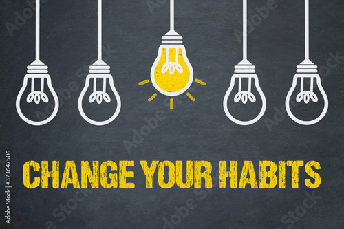 Change your Habits Tapéta, Fotótapéta