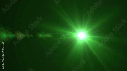Obraz na plátně light lens flare texture effect background