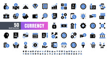 Vector Of 50 Currency FInancia...