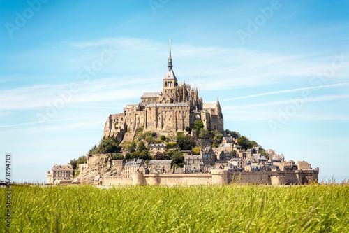 Fotografie, Obraz Le Mont Saint Michel, Normandy, France