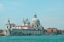 View On Cathedral Of Santa Maria Della Salute In Venice