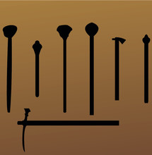 Sword & Mace Icon Set