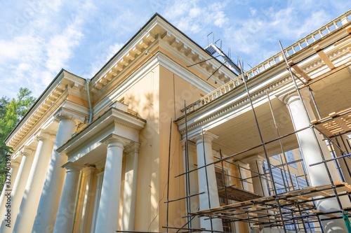 Fotografia Part of the architectural ensemble of the historical museum-estate Arkhangelskoye