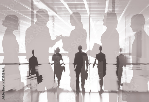Fotografie, Obraz business people in office