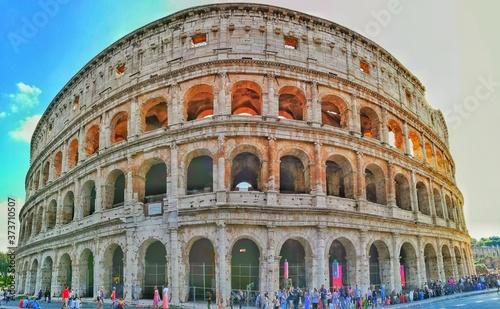 Fotografie, Obraz colosseum in rome italy