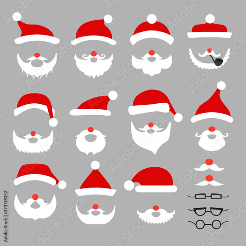 Fotografija Xmas santa party photography prop set