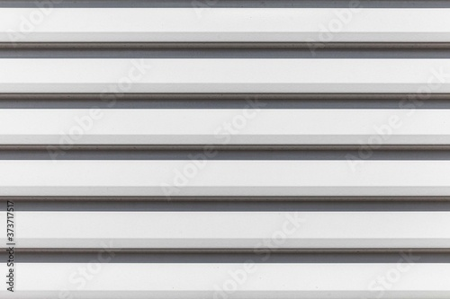 Fotografiet White louvre aluminum sheet texture and seamless background