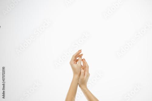 Obraz na plátně Weightless touch