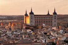 Alcazar Of Toledo, Spain, At S...