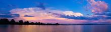 Beautiful Sunrise Over The Riv...