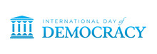 International Day Of Democracy...