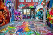 Street Art In Baltimore, Maryl...