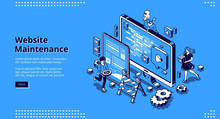Website Maintenance Banner. Co...